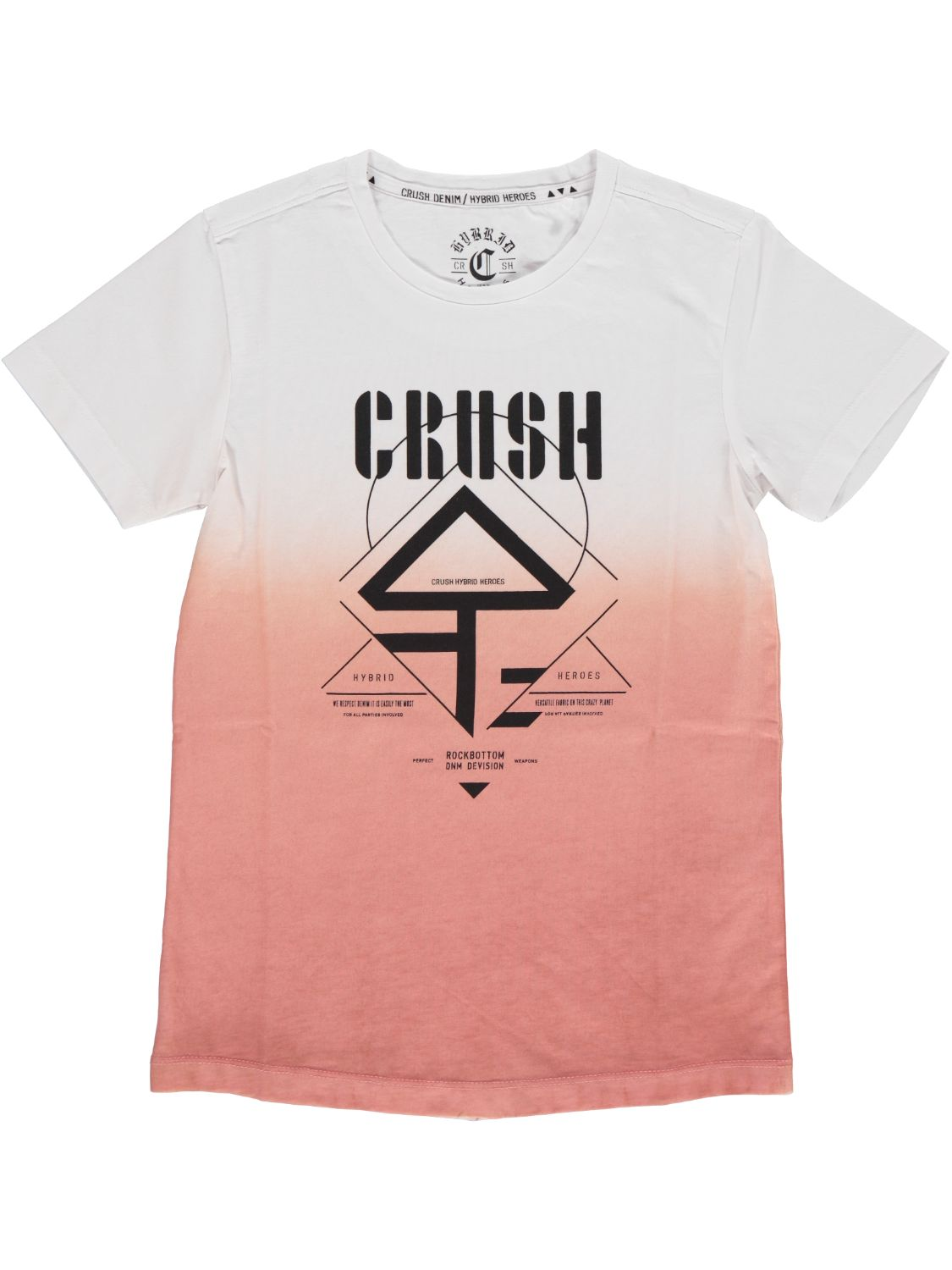 Crush Denim Shirt korte mouw