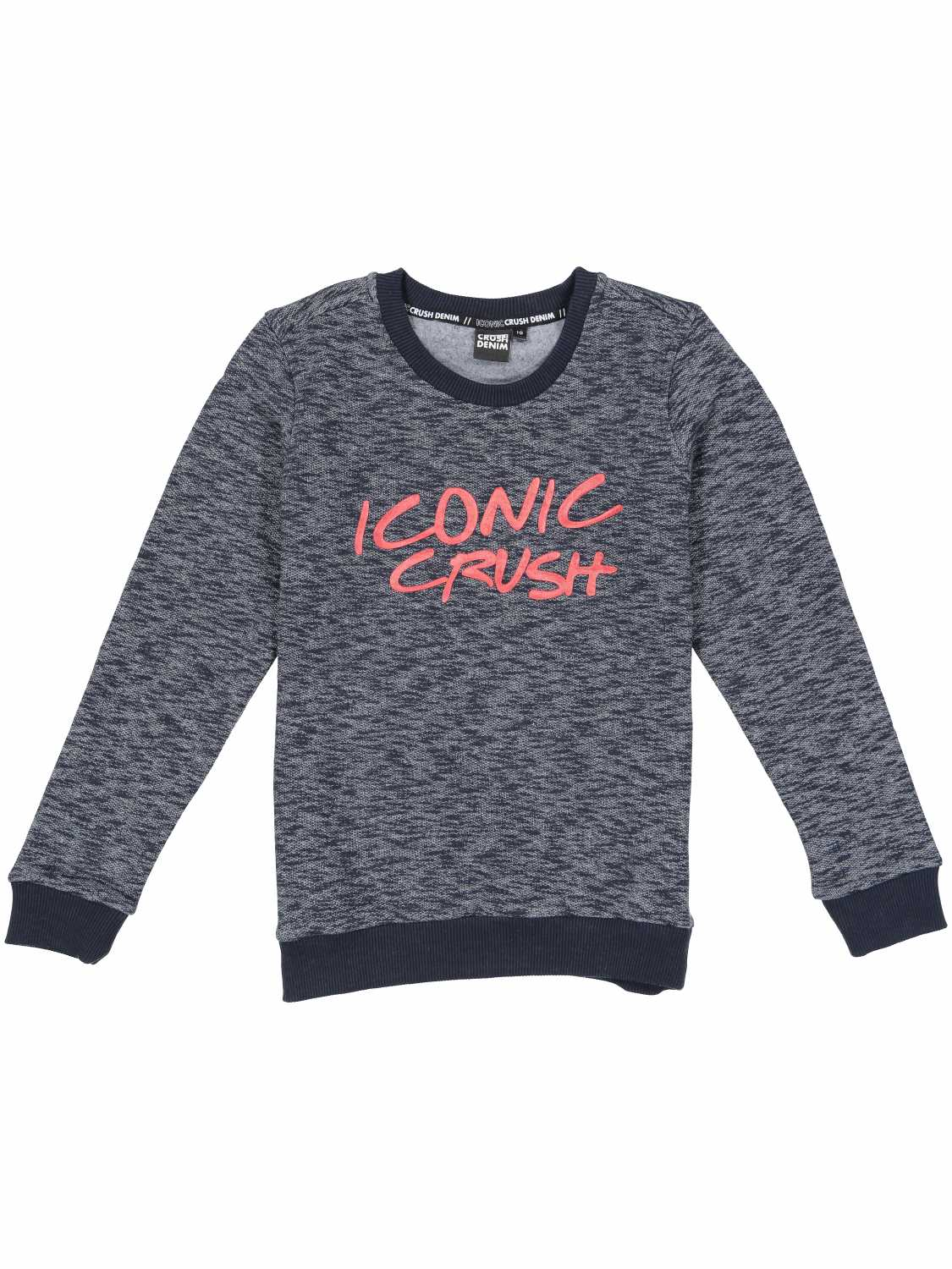 Crush Denim Sweater